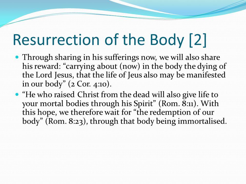Resurrection of the Body [2]